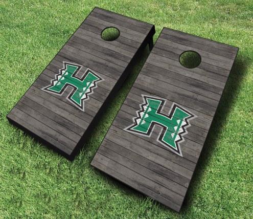 Hawaii Warriors Cornhole Board Set