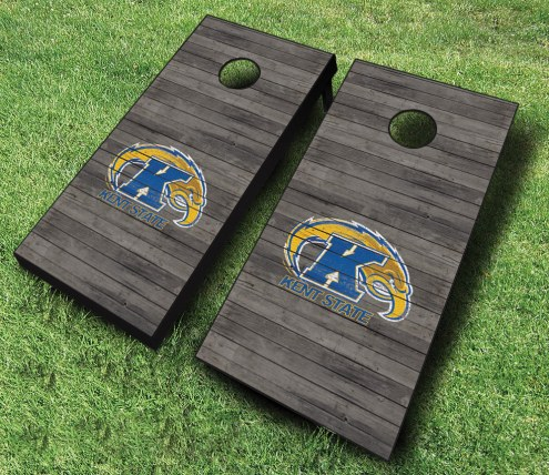 Kent State Golden Flashes Cornhole Board Set