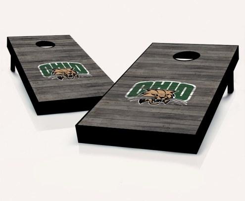 Ohio Bobcats Cornhole Board Set