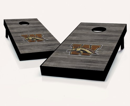 Western Michigan Broncos Cornhole Board Set