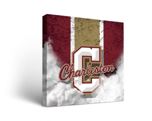 Charleston Cougars Vintage Canvas Wall Art