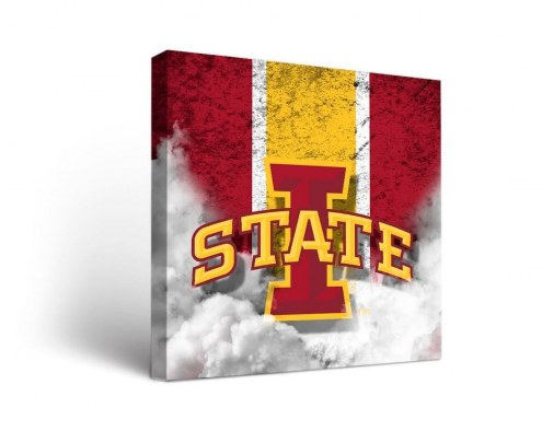 Iowa State Cyclones Vintage Canvas Wall Art
