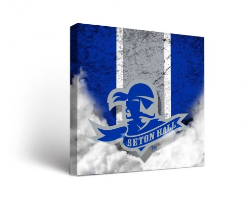 Seton Hall Pirates Vintage Canvas Wall Art