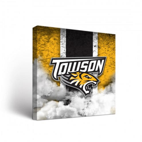 Towson Tigers Vintage Canvas Wall Art