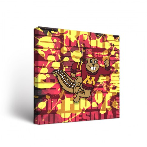 Minnesota Golden Gophers Fight Song Canvas Wall Art