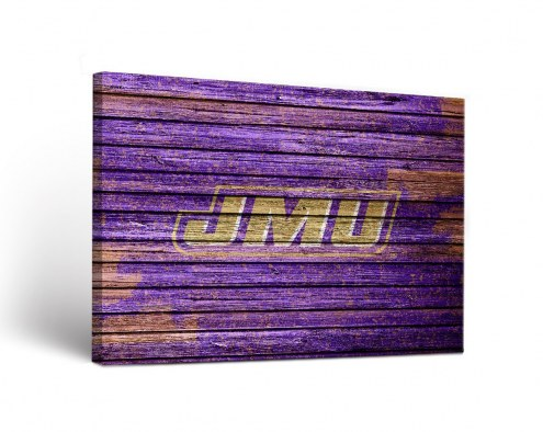 James Madison Dukes Weathered Canvas Wall Art