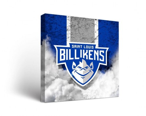 Saint Louis Billikens Vintage Canvas Wall Art