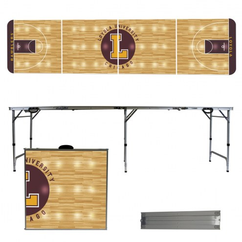 Loyola Chicago Ramblers Victory Folding Tailgate Table