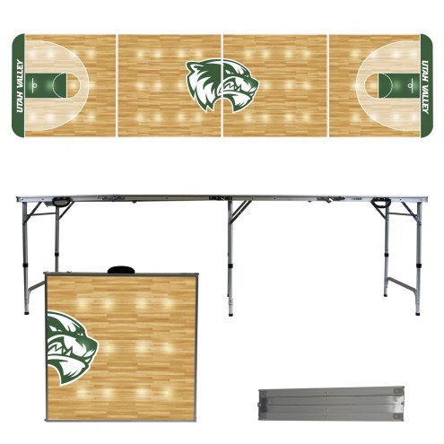 Utah Valley Wolverines Victory Folding Tailgate Table