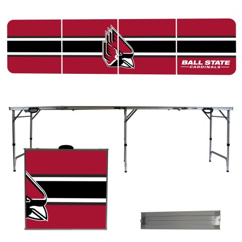 Ball State Cardinals Victory Folding Tailgate Table