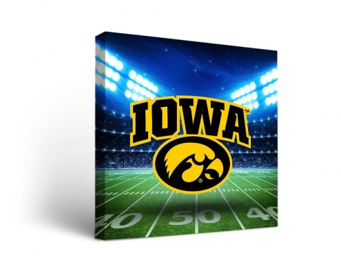 Iowa Hawkeyes Stadium Canvas Wall Art