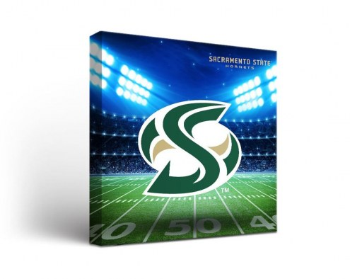 Sacramento State Hornets Stadium Canvas Wall Art