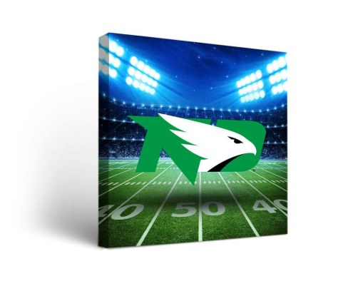 North Dakota Fighting Sioux Stadium Canvas Wall Art