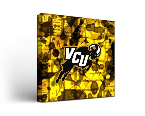 Virginia Commonwealth Rams Fight Song Canvas Wall Art