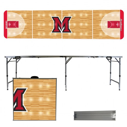Miami of Ohio RedHawks Victory Folding Tailgate Table
