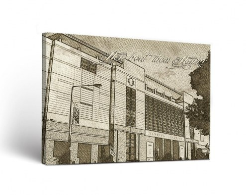 Iowa Hawkeyes Sketch Canvas Wall Art