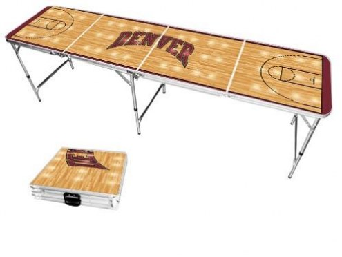 Denver Pioneers Victory Folding Tailgate Table