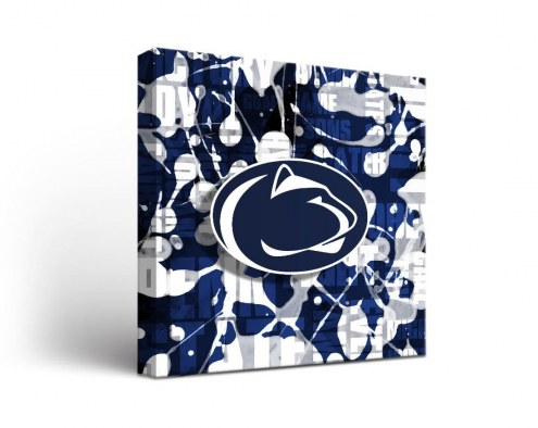 Penn State Nittany Lions Fight Song Canvas Wall Art