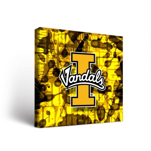 Idaho Vandals Fight Song Canvas Wall Art