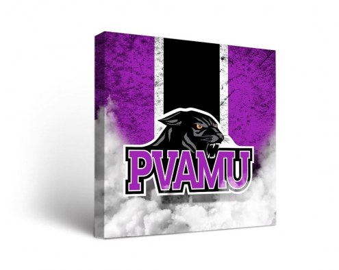 Prairie View A&M Panthers Vintage Canvas Wall Art