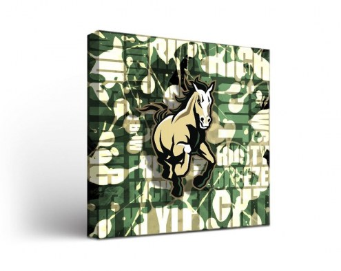 California Polytechnic State Mustangs Fight Song Canvas Wall Art