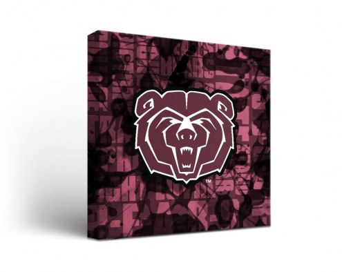 Missouri State Bears Fight Song Canvas Wall Art