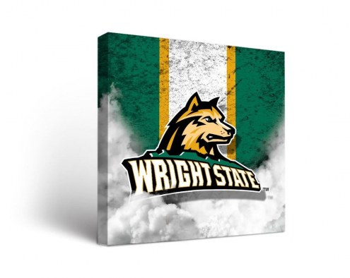 Wright State Raiders Vintage Canvas Wall Art