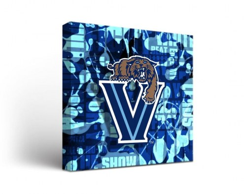 Villanova Wildcats Fight Song Canvas Wall Art