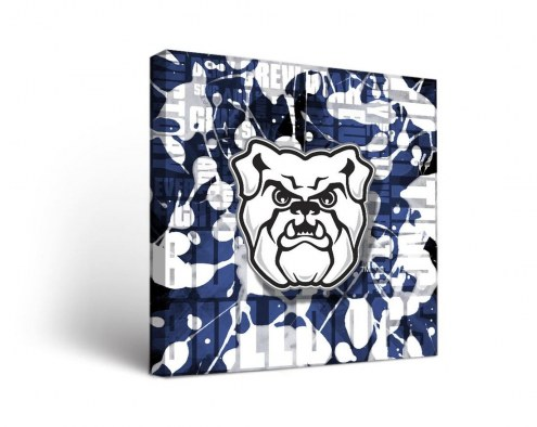 Butler Bulldogs Fight Song Canvas Wall Art