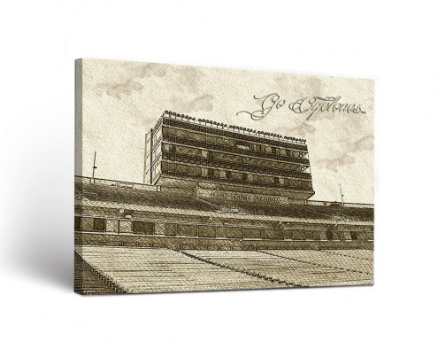 Iowa State Cyclones Sketch Canvas Wall Art