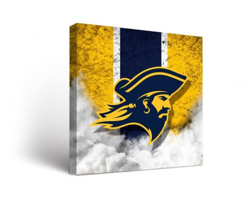East Tennessee State Buccaneers Vintage Canvas Wall Art