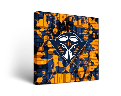 Tennessee-Martin Skyhawks Fight Song Canvas Wall Art