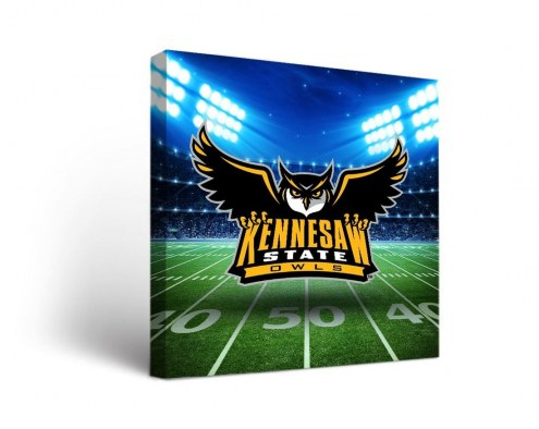 Kennesaw State Owls Stadium Canvas Wall Art