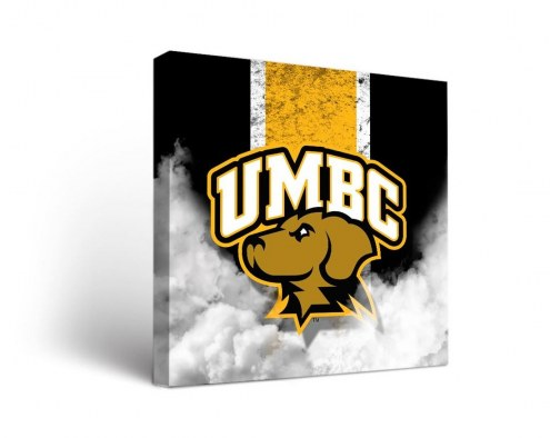 UMBC Retrievers Vintage Canvas Wall Art