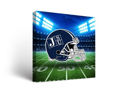 Jackson State Tigers Stadium Canvas Wall Art