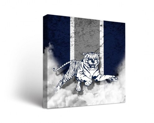 Jackson State Tigers Vintage Canvas Wall Art