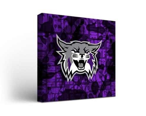 Weber State Wildcats Fight Song Canvas Wall Art