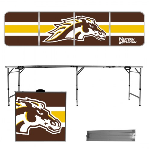 Western Michigan Broncos Victory Folding Tailgate Table