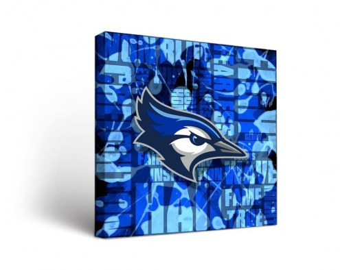 Creighton Bluejays Fight Song Canvas Wall Art