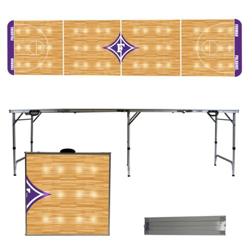 Furman Paladins Victory Folding Tailgate Table