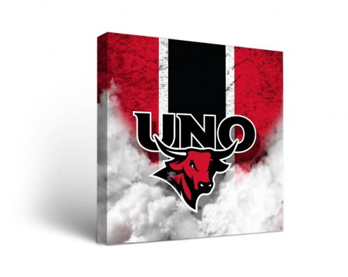 Nebraska Omaha Mavericks Vintage Canvas Wall Art