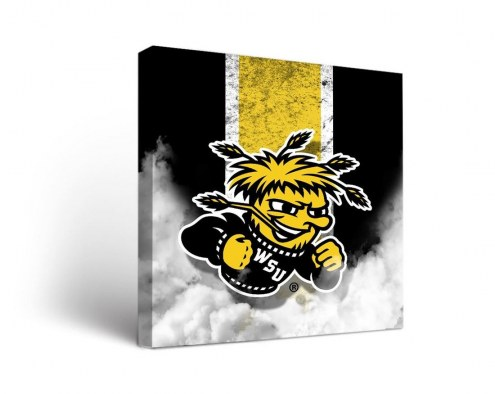Wichita State Shockers Vintage Canvas Wall Art