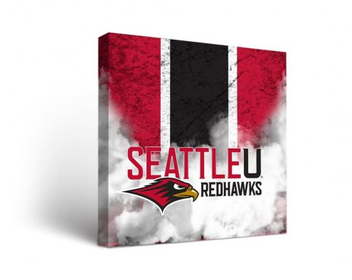 Seattle Redhawks Vintage Canvas Wall Art