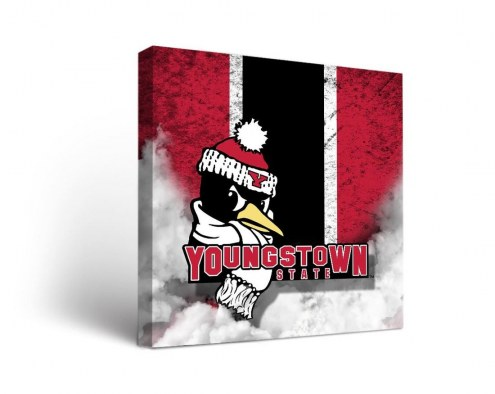 Youngstown State Penguins Vintage Canvas Wall Art