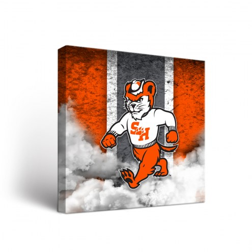 Sam Houston State Bearkats Vintage Canvas Wall Art