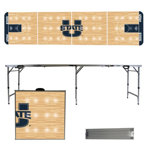Utah State Aggies Victory Folding Tailgate Table