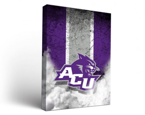 Abilene Christian Wildcats Vintage Canvas Wall Art