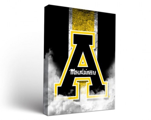 Appalachian State Mountaineers Vintage Canvas Wall Art