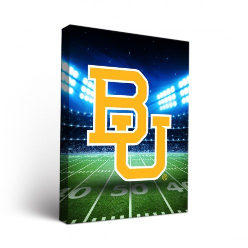 Baylor Bears Stadium Canvas Wall Art