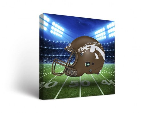 Western Michigan Broncos Stadium Canvas Wall Art